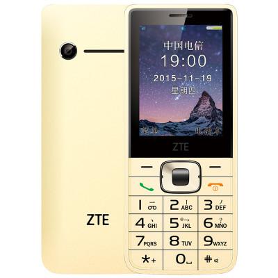 中兴(zte) cv19 电信2g手机 -金色