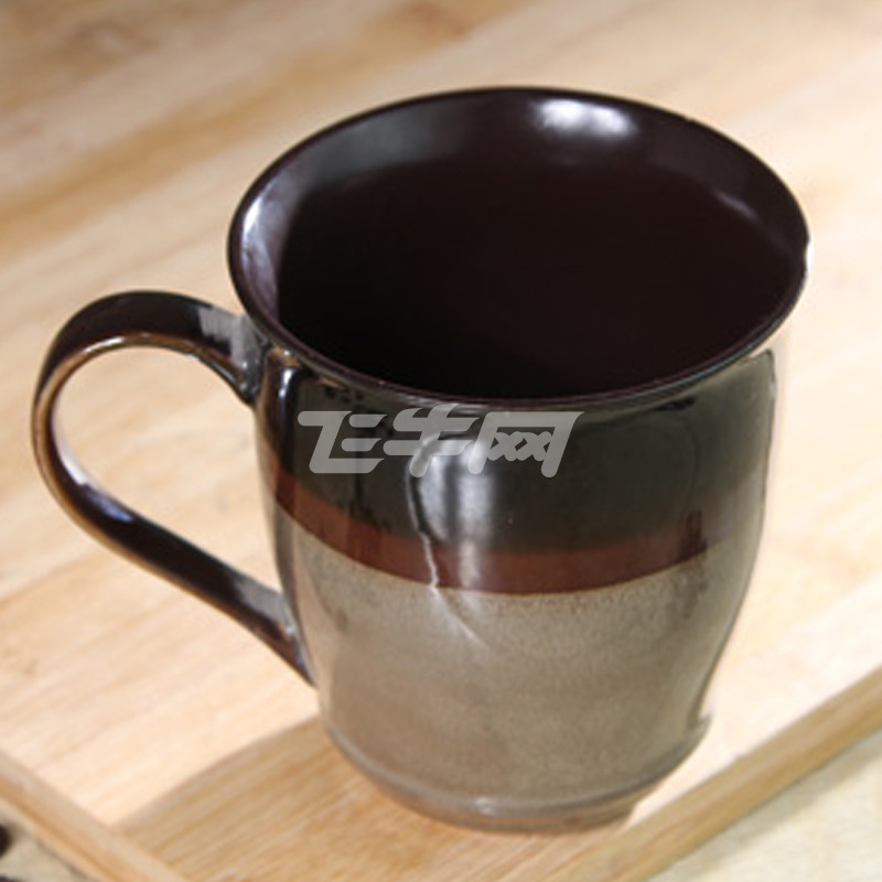 瓷彩美 手绘 陶瓷 杯子 马克杯 创意 复古 咖啡杯茶水杯 送杯勺一个