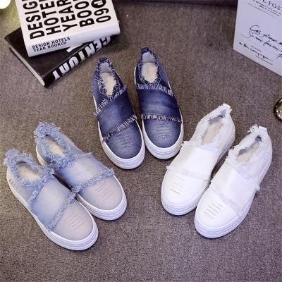 新百伦阿迪 2016新款帆布鞋女单鞋韩版休闲乐