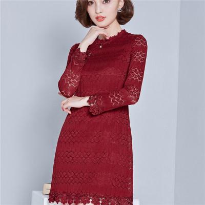 欧缇菲2016秋装大码女装打底韩版中长款上衣500平方别墅美式图片
