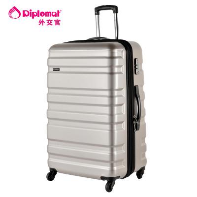 Diplomat\/外交官拉杆箱优质PC材质行李箱20英