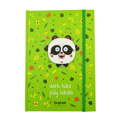 上品汇大自然主题可爱卡通a5绑带笔记本厚小学生日记
