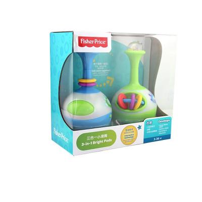 费雪三合一小滚筒 婴幼儿健身器 宝宝学爬玩具