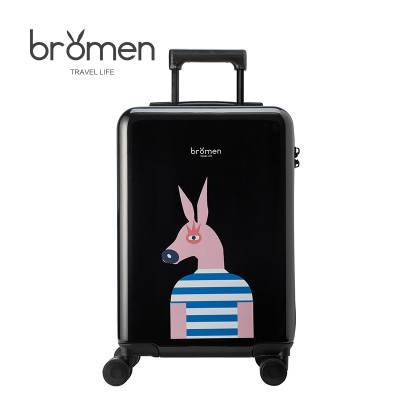 行李箱女拉杆20寸学生旅行箱男24寸密码箱硬