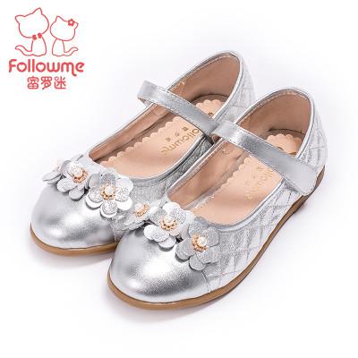 富罗迷女童皮鞋真皮公主鞋2016秋季新款韩版