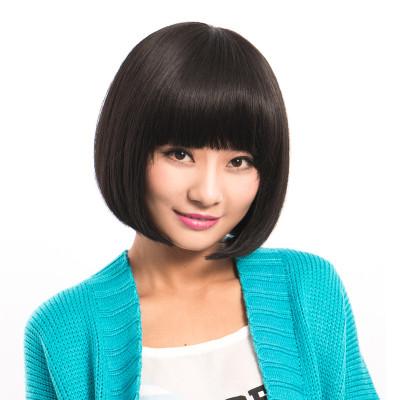 甜美可爱短发型女士假发套