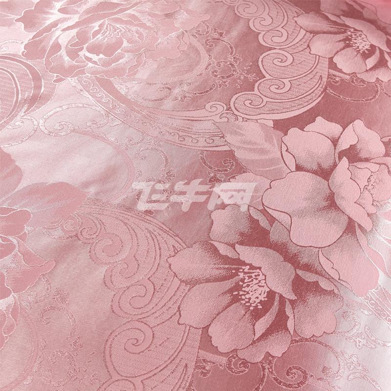 子洋家纺 欧式全棉提花四件套 纯棉婚庆床单被套床上用品1.5/1.8m/2.