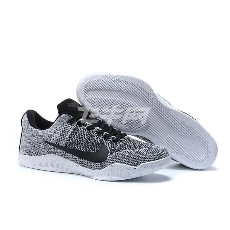nike/耐克篮球鞋科比11代奥利奥男子水晶底
