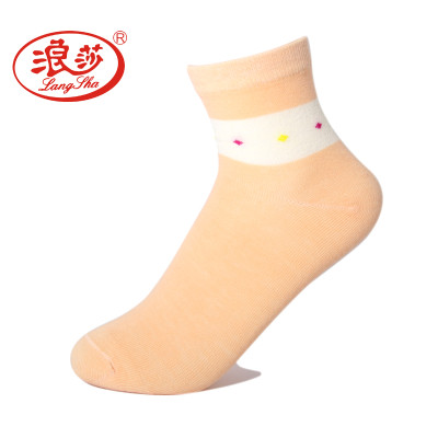 浪莎袜子 6双装女士精梳棉中筒薄棉袜吸湿排汗透气防臭女棉袜四季袜 清新可爱怎么样
