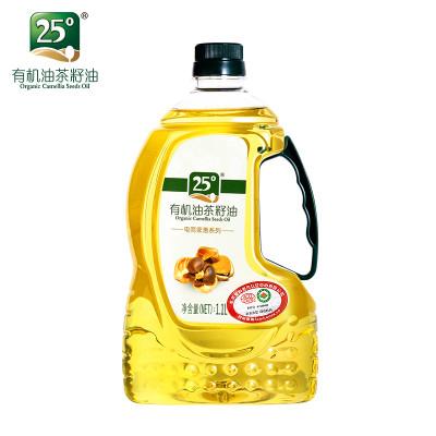 25度有机山茶油物理压榨茶籽油1