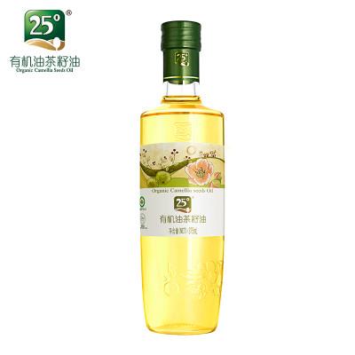 25度有机山茶油野生茶籽油低温压榨农家天然茶油健康