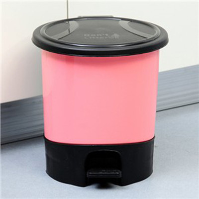 时尚环保卫生桶/脚踏垃圾桶大号(922)塑料垃圾筒卫生间客厅厨房家用垃