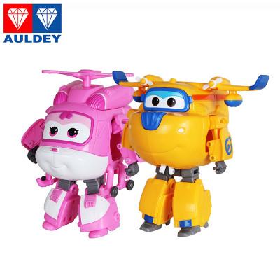 奥迪双钻超级飞侠儿童玩具变形机器人乐迪710210小