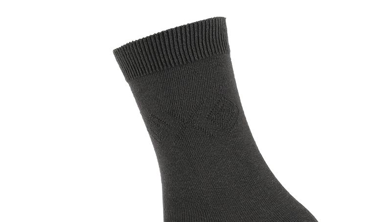 6双装浪莎男士防臭中筒袜男士防臭棉袜子春夏季男袜中筒棉袜秋冬黑运动短袜四季新品