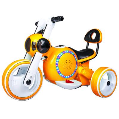 孩子王儿童电动车摩托车 可坐人 宝宝童车三轮车 男女