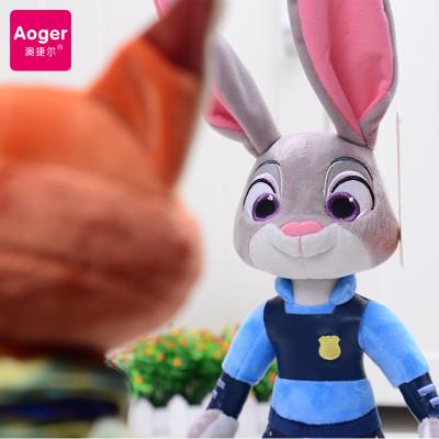 迪士尼正版授权疯狂动物城公仔兔子朱迪狐狸
