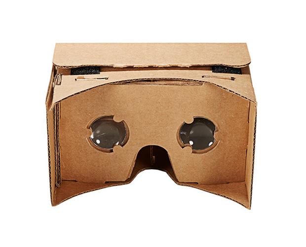 MOOV智眼镜手工版vr虚拟现实3D图纸VRcada2眼镜画怎么图片
