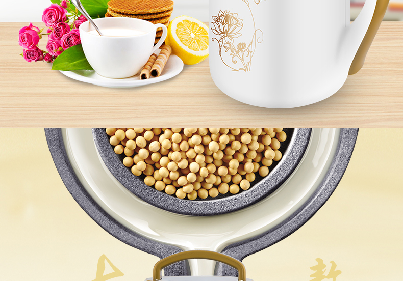 易斯顿(yisidun)D09全自动家用豆浆机 干豆湿豆米糊机1.8L好不好