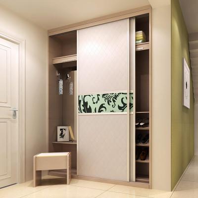 sogal索菲亚 衣柜 现代简约风格客厅入户柜玄关柜鞋柜推拉门储物柜