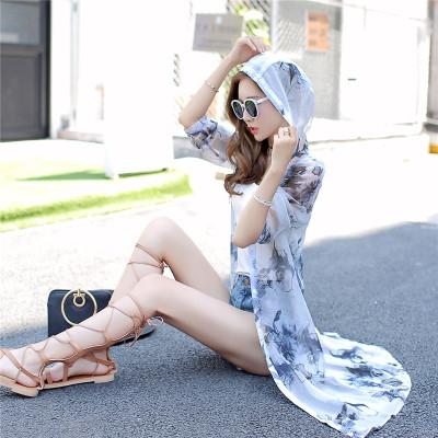 欧缇菲衣服衫女夏中长款大码上衣遮阳防晒雪纺企业湖南别墅钢结构图片