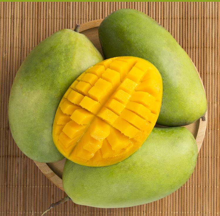 【杞农优食】越南玉芒新鲜水果 单果200-300g 5斤装 清甜核小进口芒果购买心得