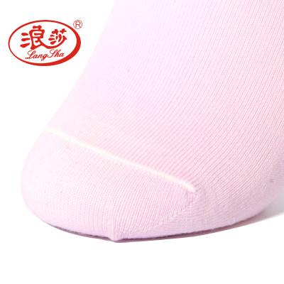 浪莎袜子 6双装女士精梳棉中筒薄棉袜吸湿排汗透气防臭女棉袜四季袜 清新可爱报价