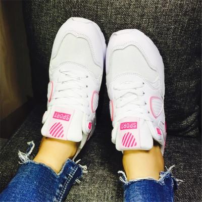 悠梵琪 开学季网络新款网布小盾牌运动鞋休闲