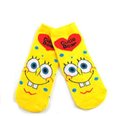 哈伊费舍女士短袜子可爱船袜卡通款袜子